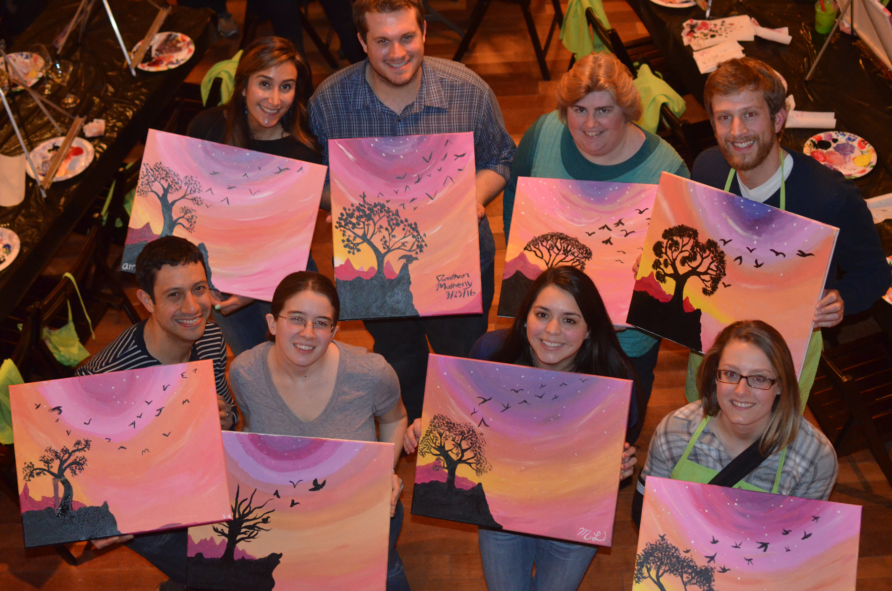 Paint Night 2016